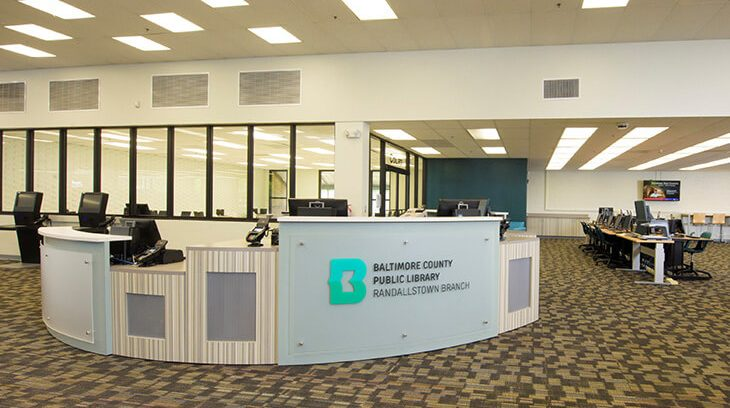 Randallstown Public Library Reception Image