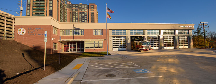 Towson Fire Station General Contractor NBP